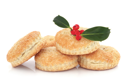 Mince Pie and Holly