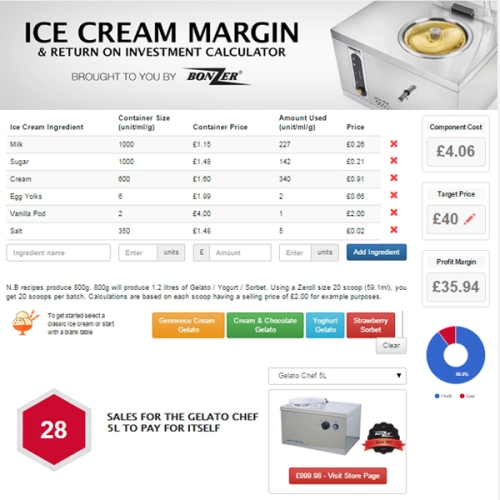 Ice-cream-Calculator